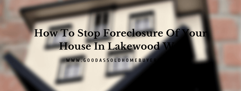 Sell your house in Lakewood WA