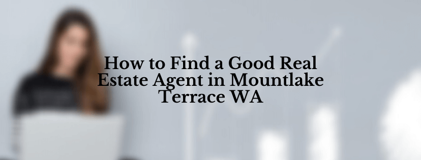 Sell Your House In Mountlake Terrace WA