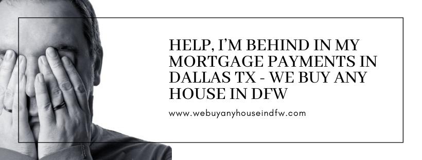 We buy properties in Dallas TX