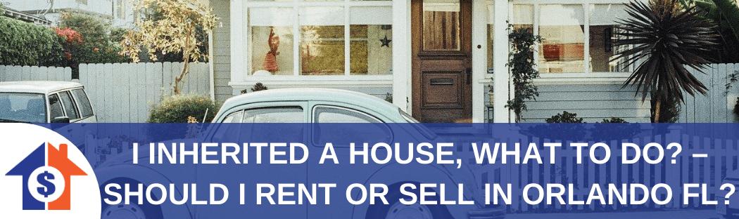 We buy houses in Orlando FL