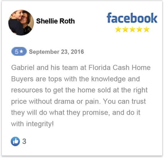 sell my house in florida without a realtor happy review by Shellie