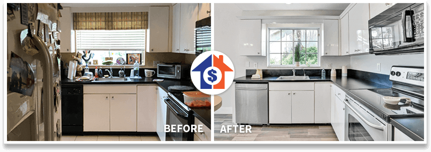 florida cash home buyers fix and flip kitchen image