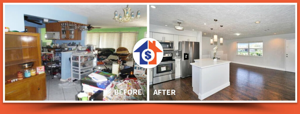 sell your home in florida as is without cleaning anything just like the one in this picture