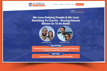 page about Legitimate home buying company in FL