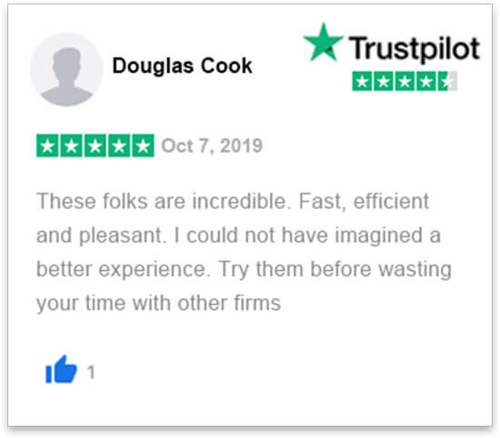 happy review by Doug Cook who sold her house in florida fast without a realtor to florida cash home buyers