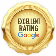 seal showing excellent google rating for buying houses cash in florida