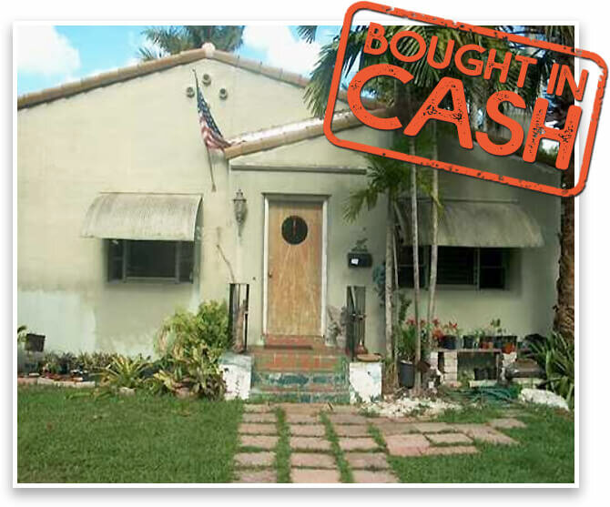 we offer cash for homes in florida and bought this house as is