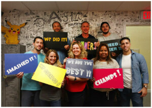 florida cash home buyers team fun day at escape room in 2017