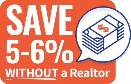 Save 5-6% on commissions by selling your home without an agent in florida