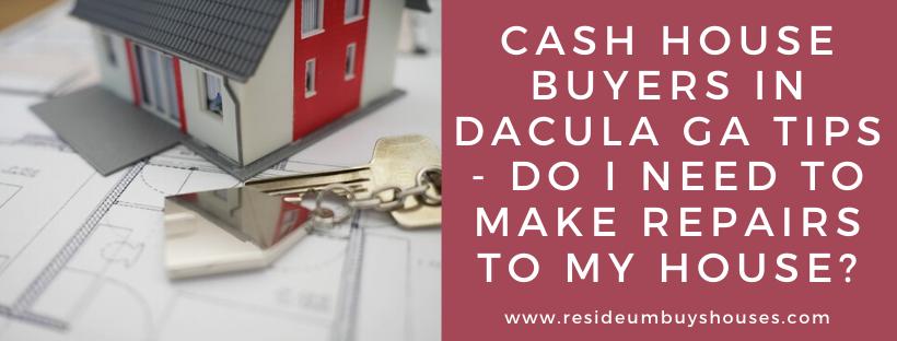 We buy houses in Dacula GA