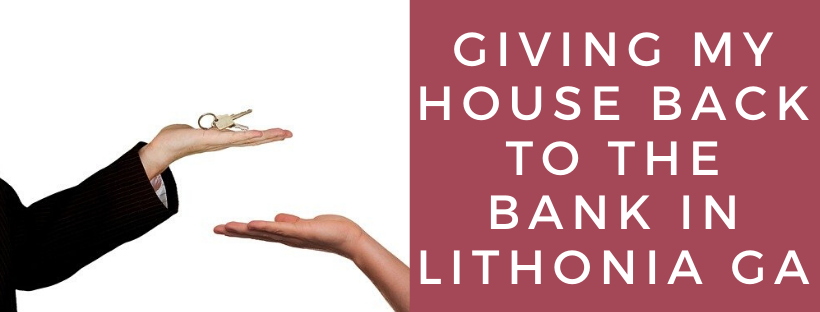 We buy houses in Lithonia GA