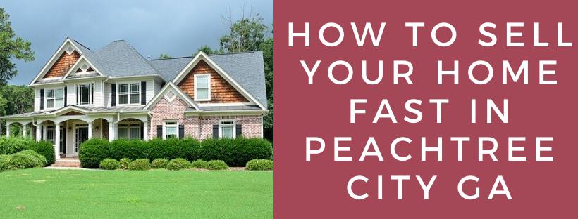 We buy houses in Peachtree City GA