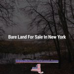 Bare Land For Sale In New York New York Land Sales Blog