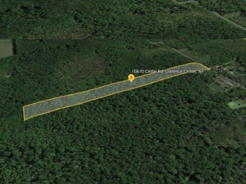 Land For Sale Clarence Center, NY 14032 WeSellNewYorkLand.com