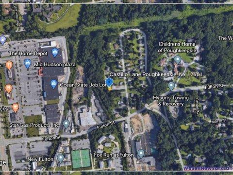 Castillio Lane, Poughkeepsie NY Map 1 www.WeSellNewYorkLand.com