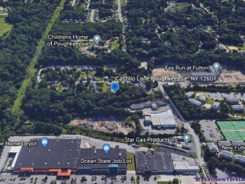 Castillio Lane, Poughkeepsie NY Map 2 www.WeSellNewYorkLand.com