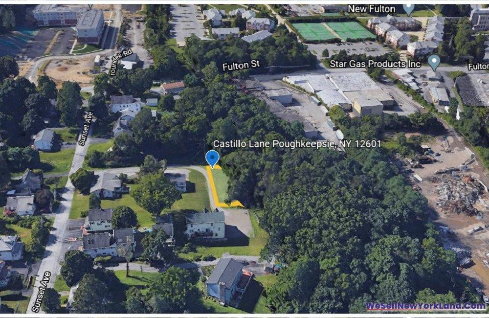 Castillio Lane, Poughkeepsie NY Map 4 www.WeSellNewYorkLand.com