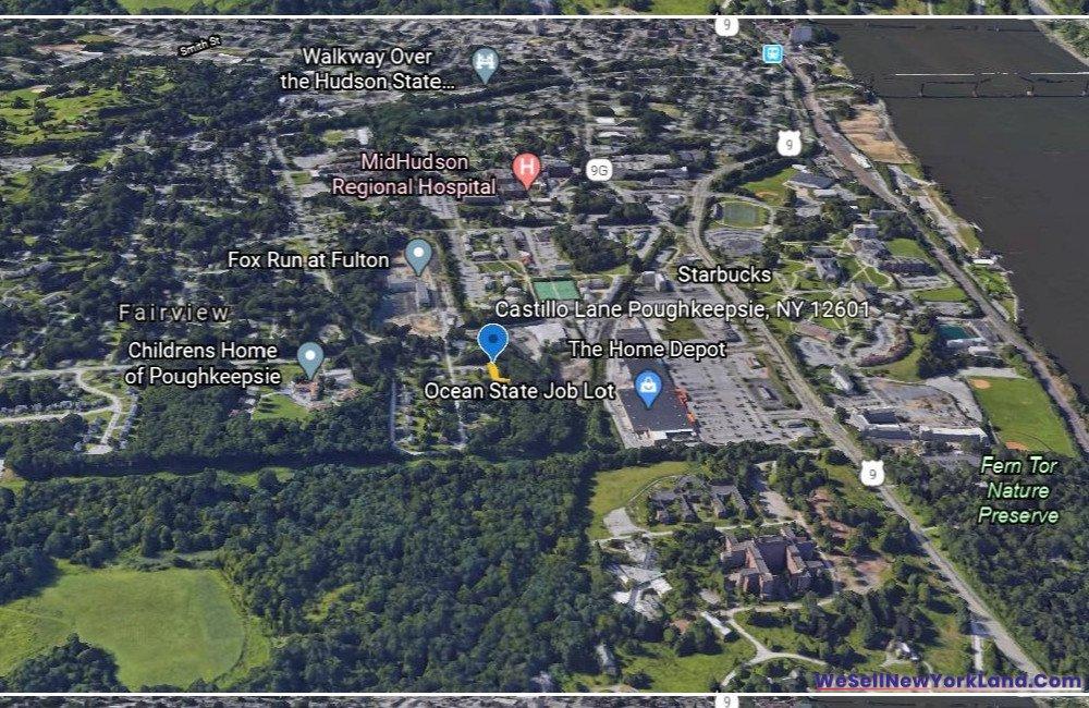 Castillio Lane, Poughkeepsie NY Map 5 www.WeSellNewYorkLand.com