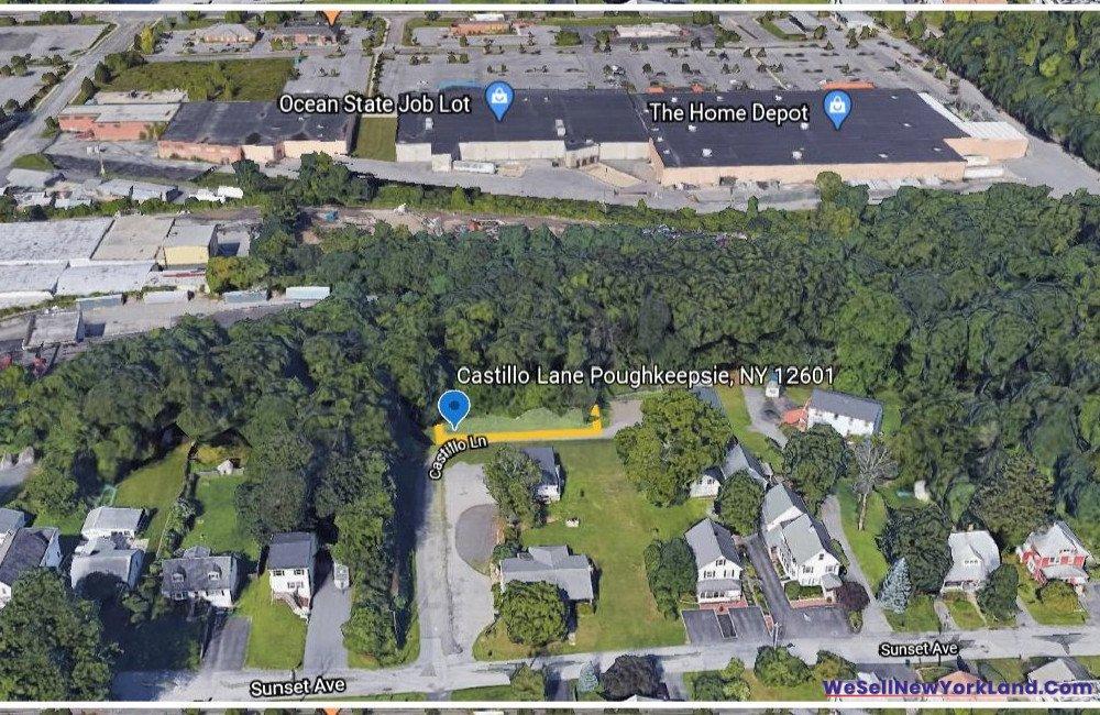 Castillio Lane, Poughkeepsie NY Map 7 www.WeSellNewYorkLand.com