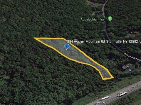 Hosner Mountain Rd Stormville, NY Map 4 WeSellNewYorkLand.com