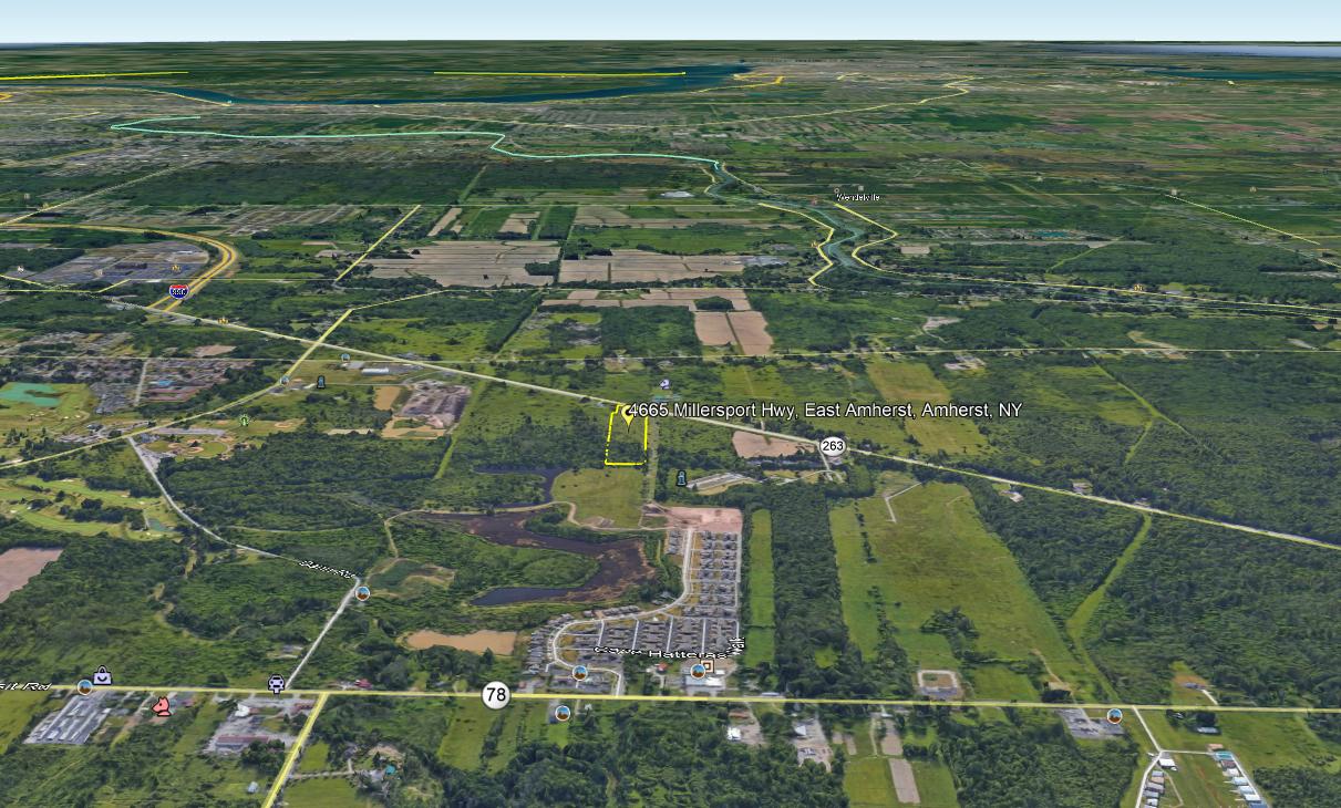 Land For Sale 4665 Millersport Hwy, East Amherst,NY www.WeSellNewYorkLand.com