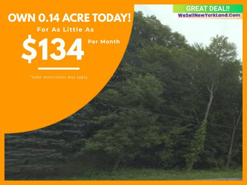 Cheap Land For Sale E Hillside Dr East Fishkill, New York  www.WeSellNewYorkLand.com