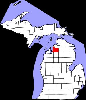 Antrium County MI Map WeSellNewYorkLand.com
