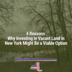 4 Reasons Why Investing in Vacant Land in New York New York Land Sales Blog