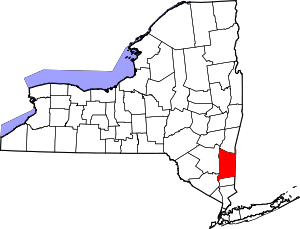 Dutchess County NY map