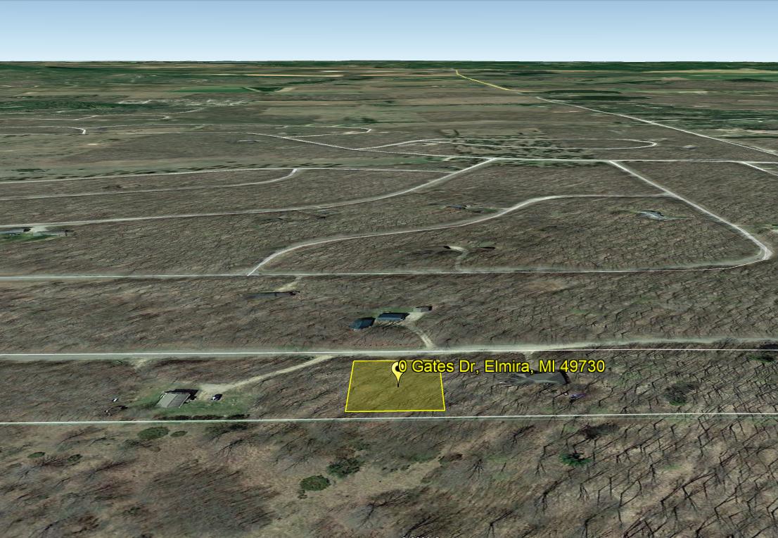 Land For Sale Lot 295 Gates Dr, Elmira, MI
