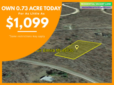 Land For Sale Lot 575 Sprucedale Cir Elmira, MI