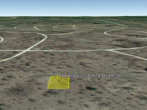 Land For Sale Lot 984 Holbrook Ct, Elmira, MI