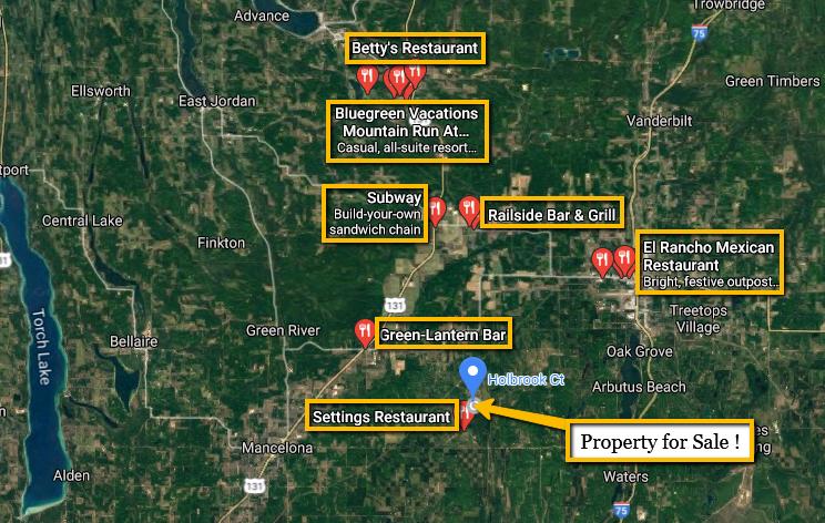 Land For Sale Lot 990 Holbrook Ct, Elmira, MI