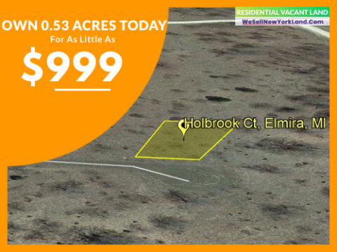 Land For Sale Lot 990 Holbrook Ct, Elmira, MI