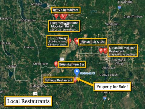 Land For Sale Lot 991 Holbrook Ct, Elmira, MI
