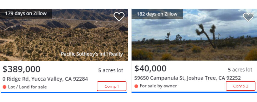 Land For Sale Yucca Valley, Ca Comparable Land www.WeSellNewYorkLand.com