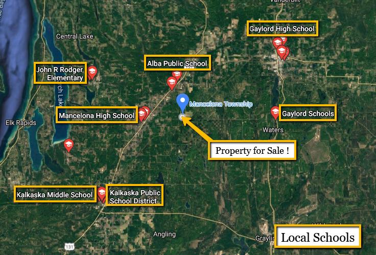Land For Sale Lot 989 Holbrook Ct, Elmira, MI