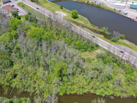Land For Sale Route 31, Lyons, NY Boundry
