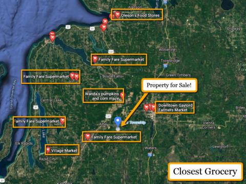 Land For Sale Lot 479 Pinecrest Dr. Elmira, MI