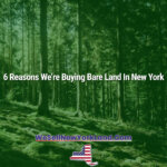 6 Reasons We're Buying Bare Land In New York