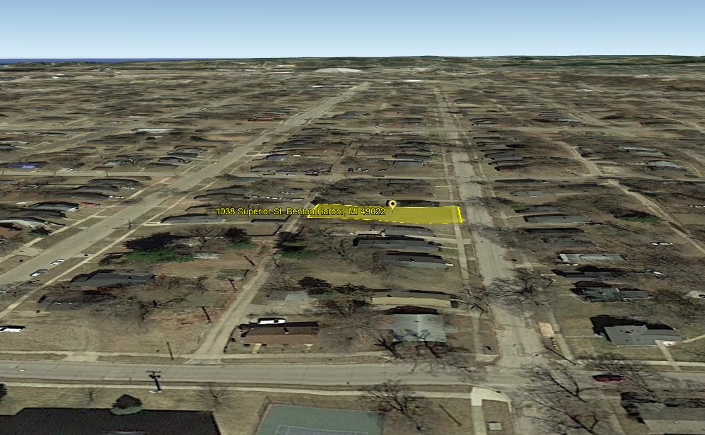 Land For Sale 1038 Superior St Benton Harbor, MI 4902