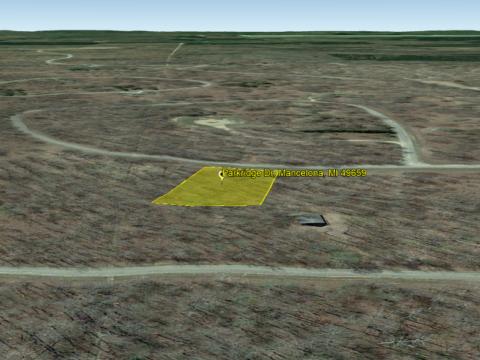 Land For Sale Lot 346 Parkridge Dr. Mancelona MI