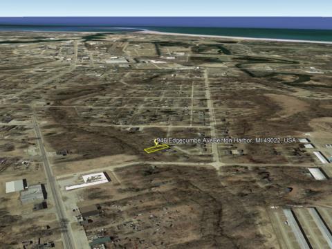 Land For Sale 946 Edgecumbe Ave Benton Harbor, MI