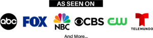 Surplus Asset Specialists, Inc. As Seen On ABC, CBS, NBC, FOX & the CW Affiliated Media Outlet Logo