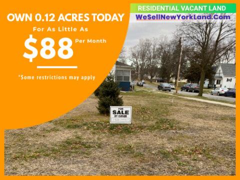Land For Sale 1114 E Ganson St. Jackson, MI Main Image www.WeSellNewYorkLand.com