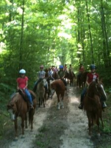 Lakes of The North Michigan Horse Stables 1