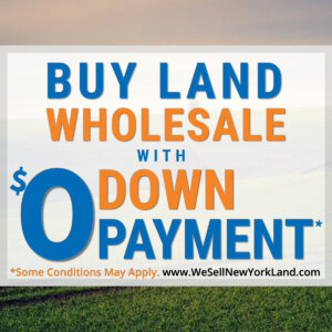 Wholesale Land For Sale With $0 Down