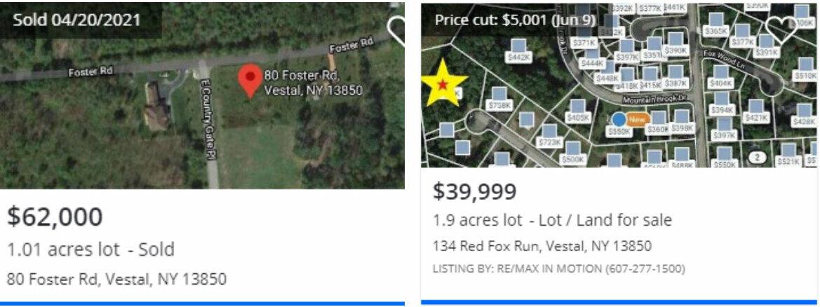 1300 Holly Hill Rd, Vestal, NY Comparable Land