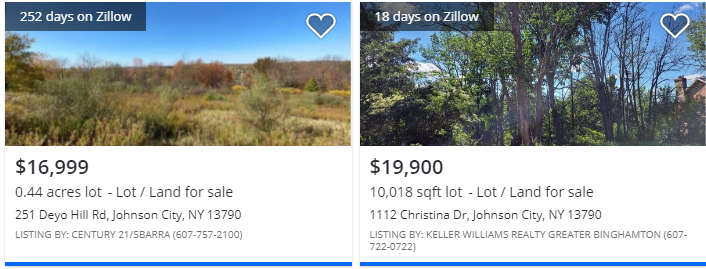 1511 Oakdale Rd, Maine, NY Comparable Land