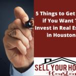 investing in real estate in Houston